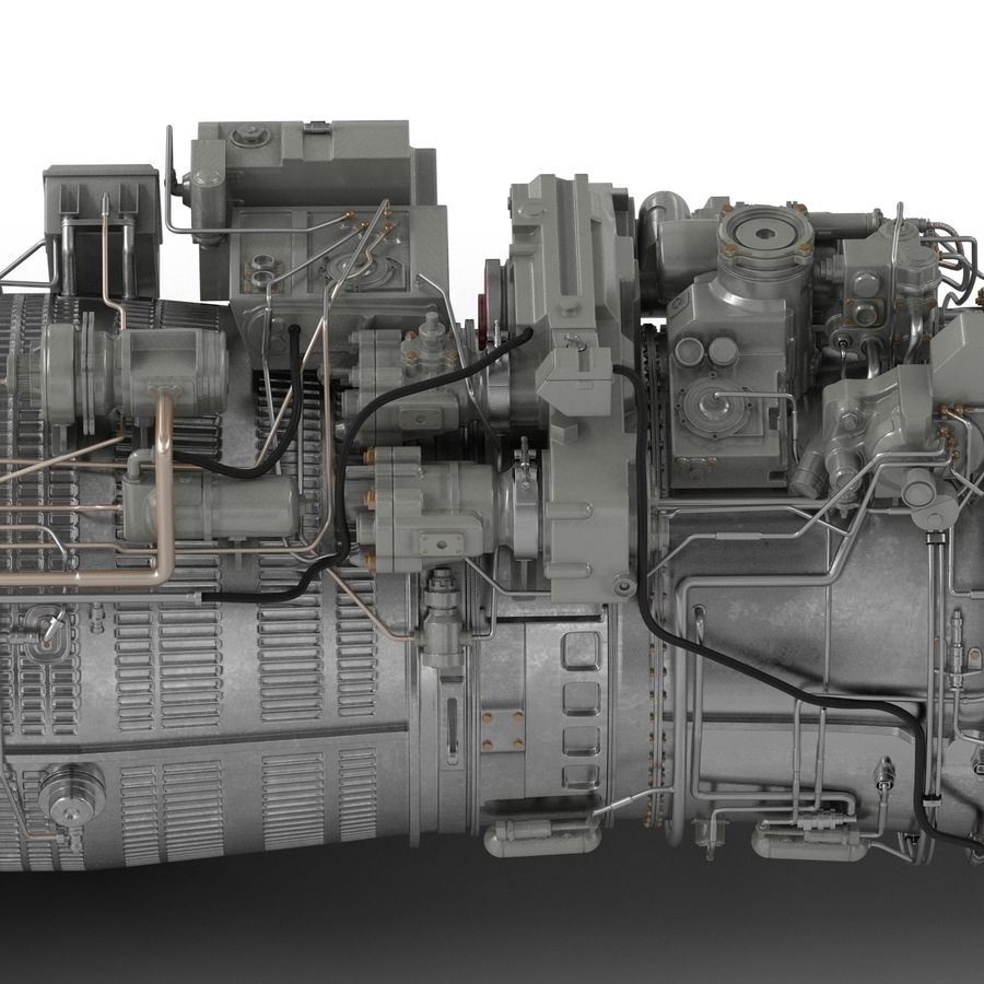 Aircraft Engines Collection royalty-free 3d model - Preview no. 149