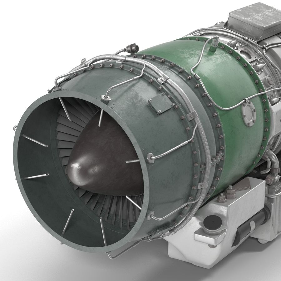 Aircraft Engines Collection royalty-free 3d model - Preview no. 159