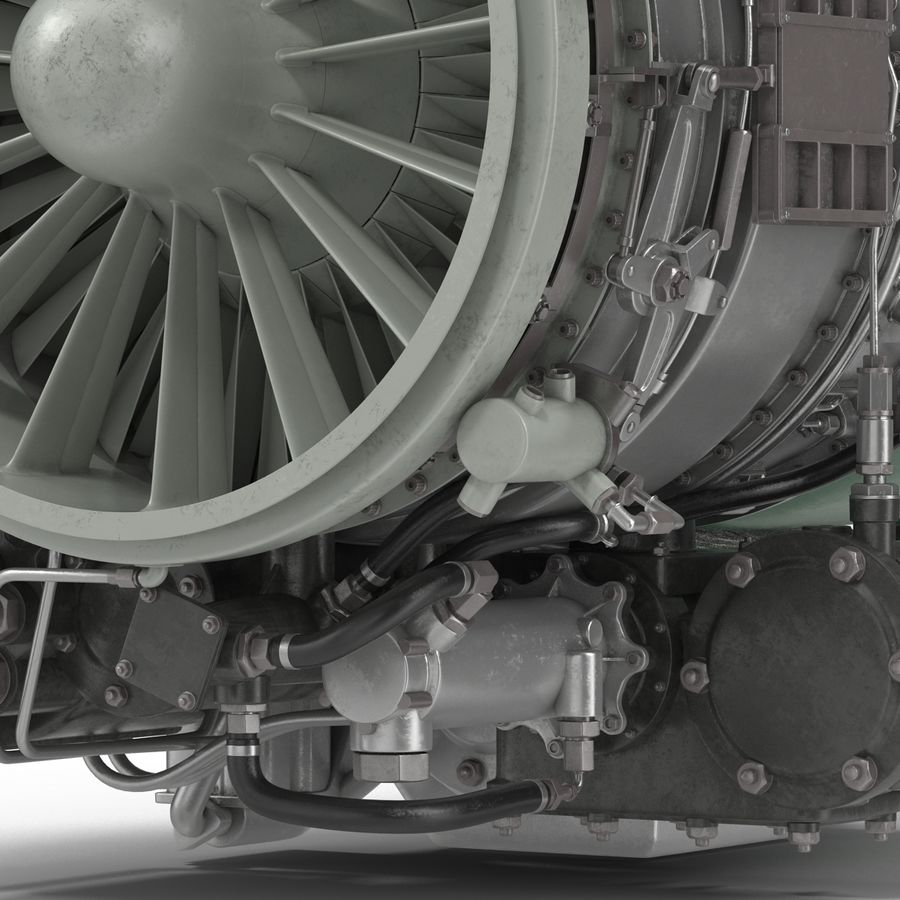 Aircraft Engines Collection royalty-free 3d model - Preview no. 167