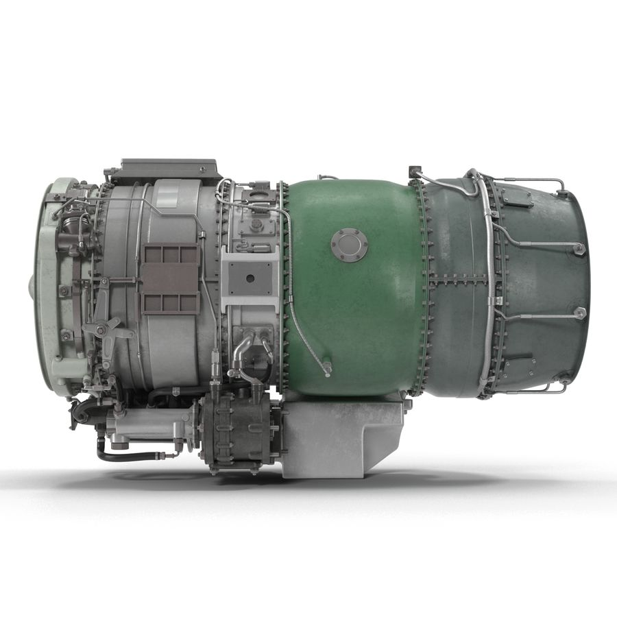 Aircraft Engines Collection royalty-free 3d model - Preview no. 154