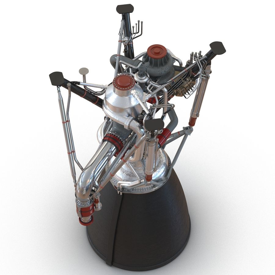 Aircraft Engines Collection royalty-free 3d model - Preview no. 83