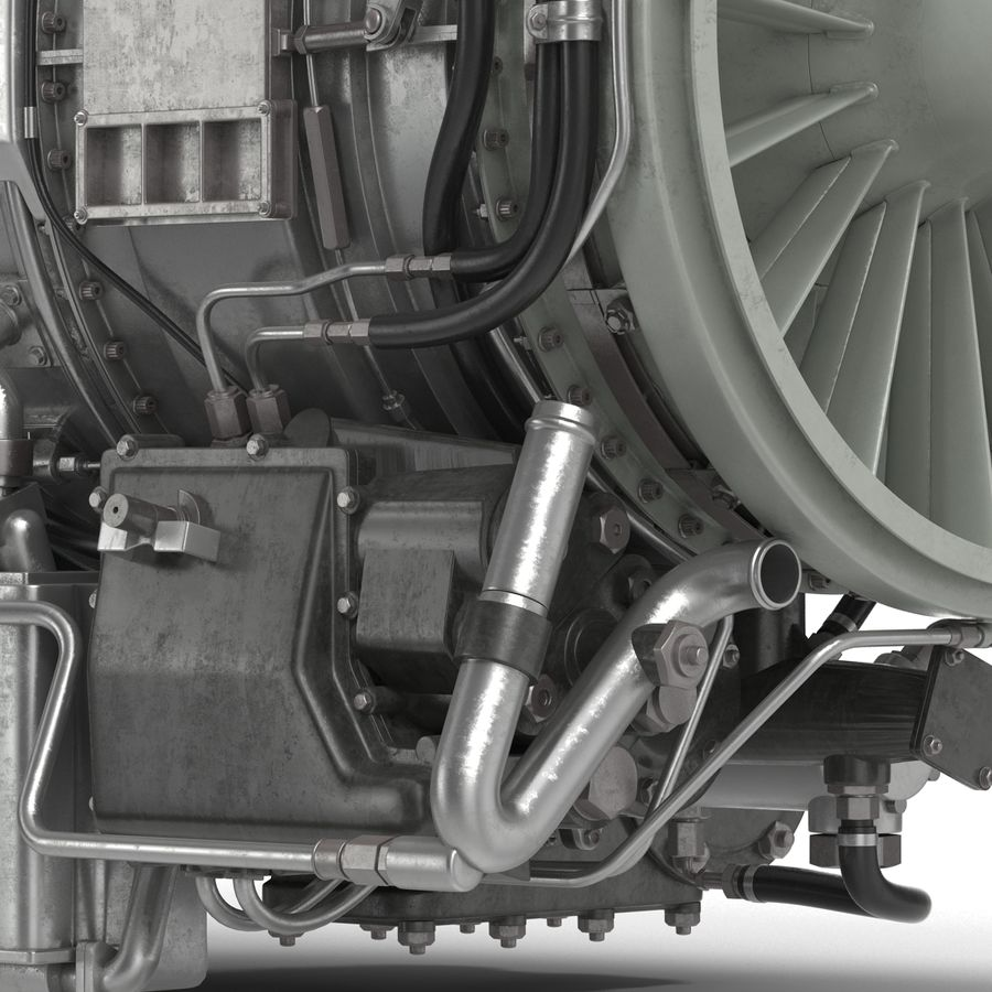 Aircraft Engines Collection royalty-free 3d model - Preview no. 168