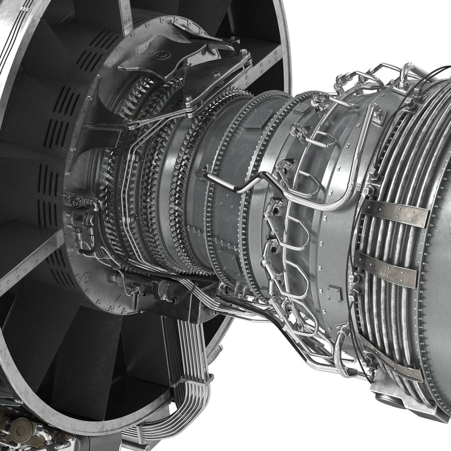 Aircraft Engines Collection royalty-free 3d model - Preview no. 124