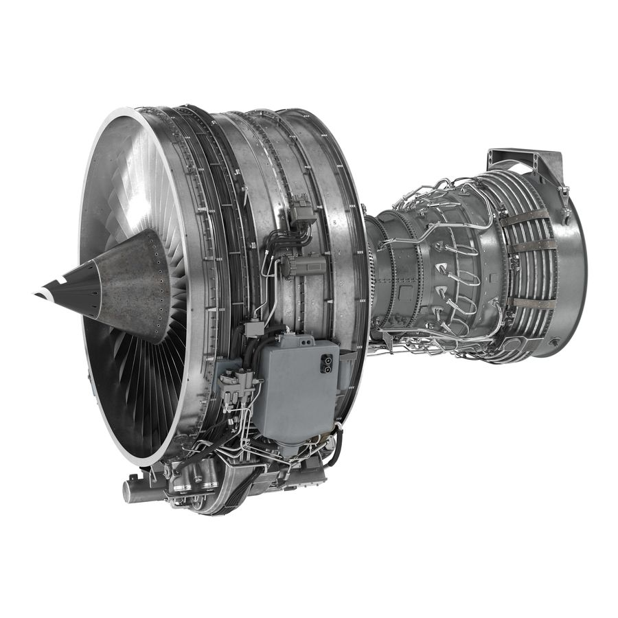 Aircraft Engines Collection royalty-free 3d model - Preview no. 100