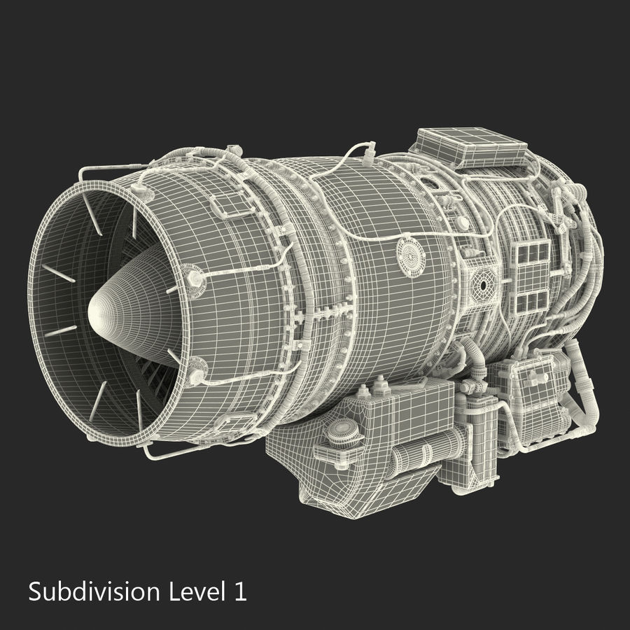 Aircraft Engines Collection royalty-free 3d model - Preview no. 209