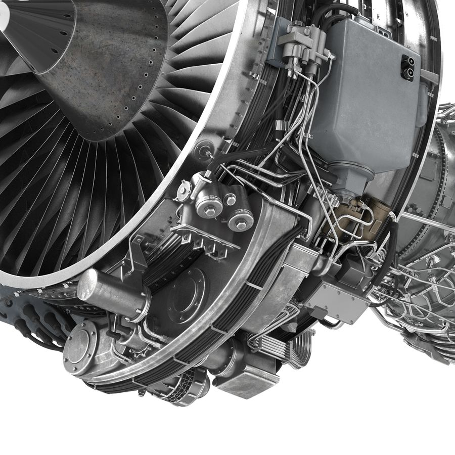Aircraft Engines Collection royalty-free 3d model - Preview no. 121