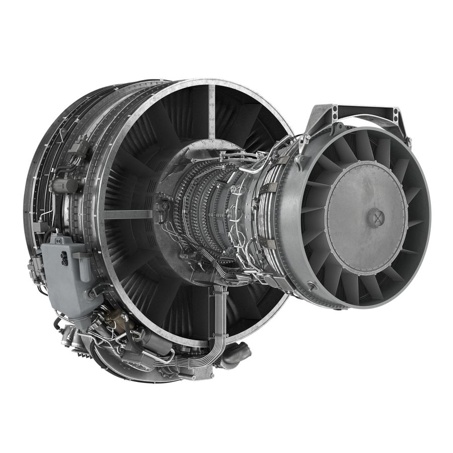 Aircraft Engines Collection royalty-free 3d model - Preview no. 105