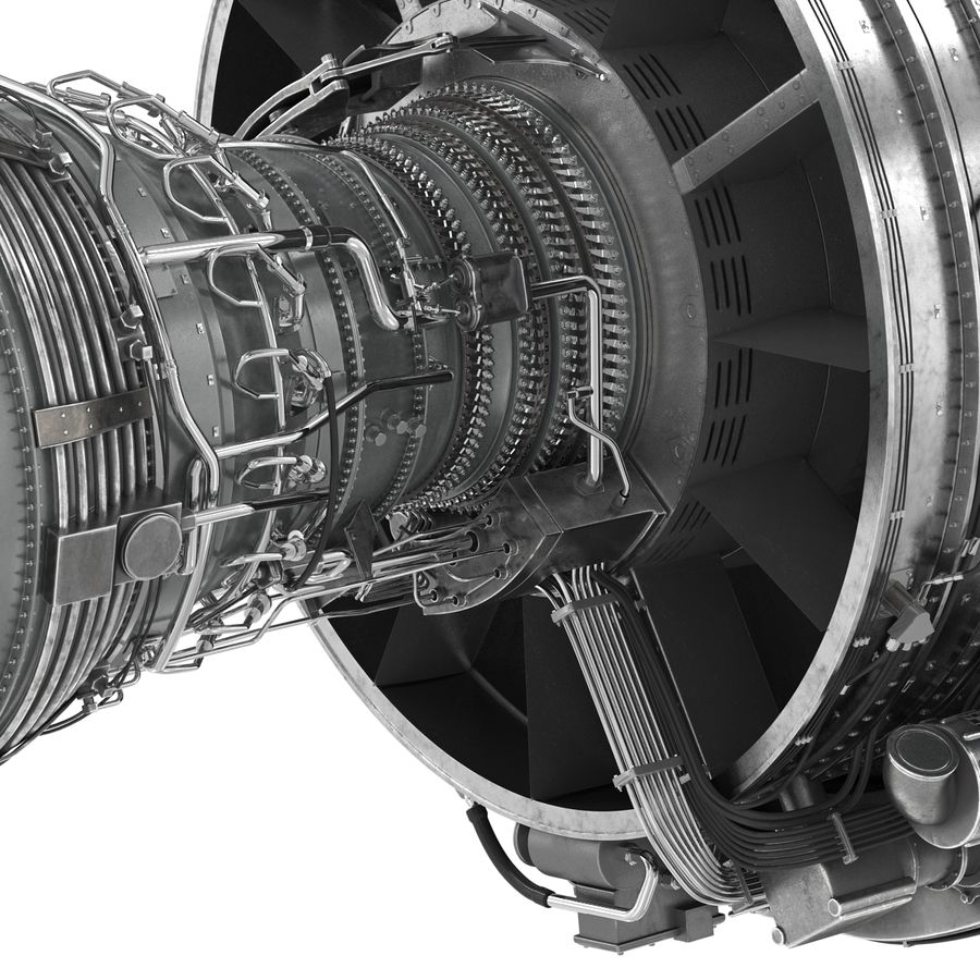 Aircraft Engines Collection royalty-free 3d model - Preview no. 119