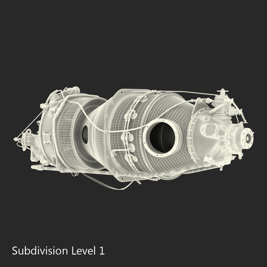 Aircraft Engines Collection royalty-free 3d model - Preview no. 211