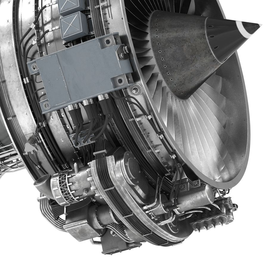 Aircraft Engines Collection royalty-free 3d model - Preview no. 118