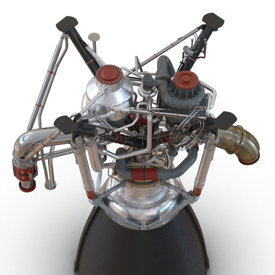 Aircraft Engines Collection royalty-free 3d model - Preview no. 84