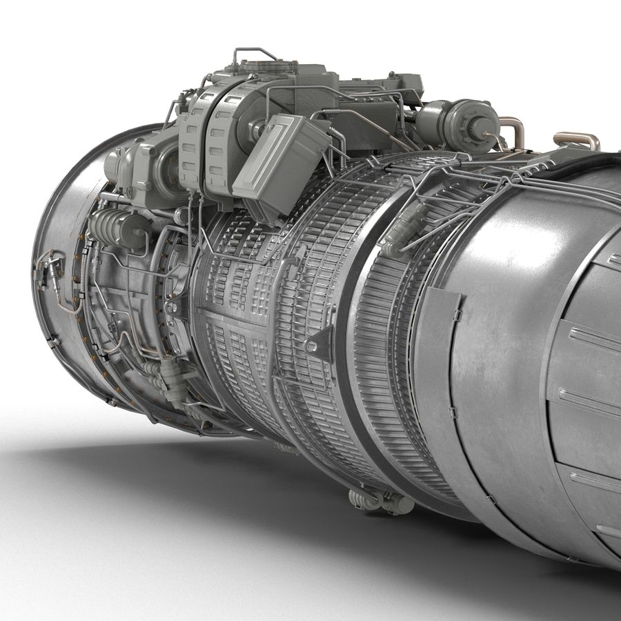 Aircraft Engines Collection royalty-free 3d model - Preview no. 139