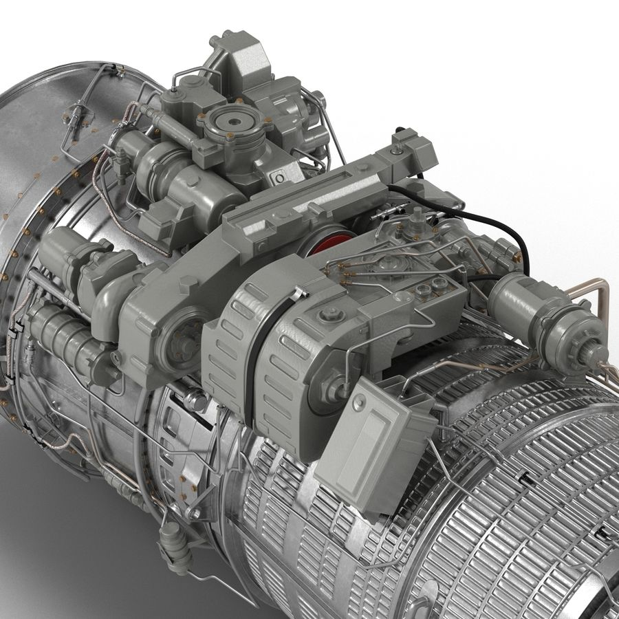 Aircraft Engines Collection royalty-free 3d model - Preview no. 148