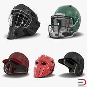Sport Helmets Collection 2 3d model
