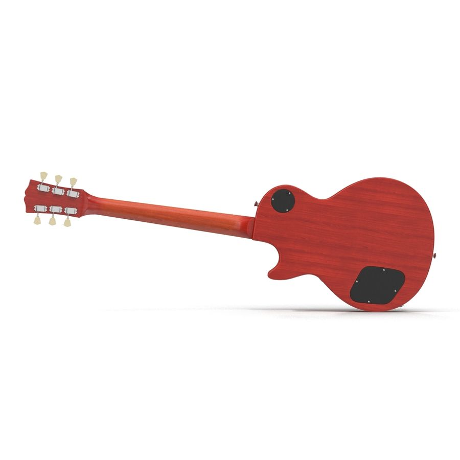 Guitars Collection royalty-free 3d model - Preview no. 14