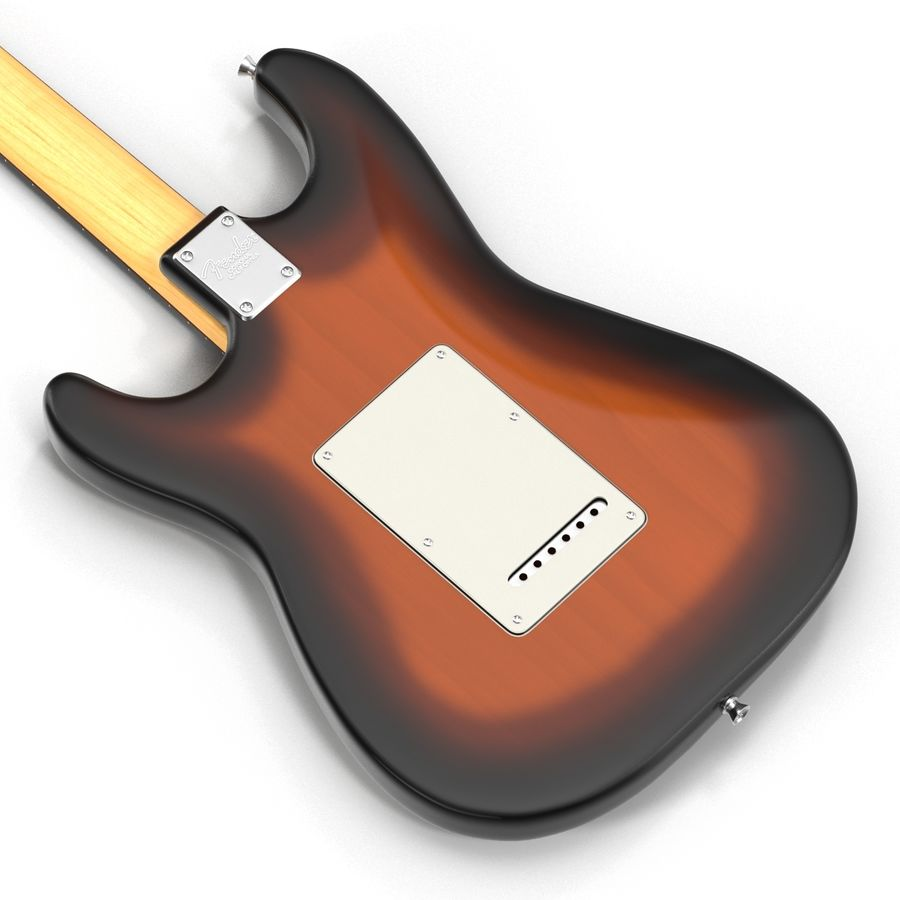 Guitars Collection royalty-free 3d model - Preview no. 46