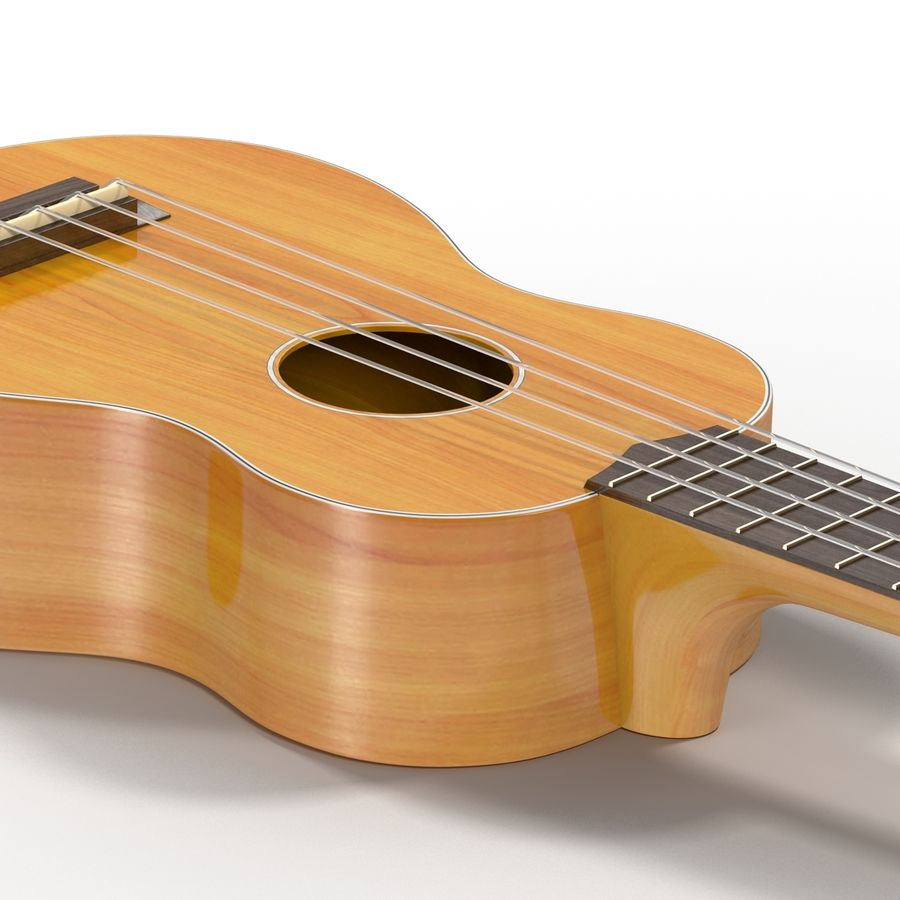 Guitars Collection royalty-free 3d model - Preview no. 55