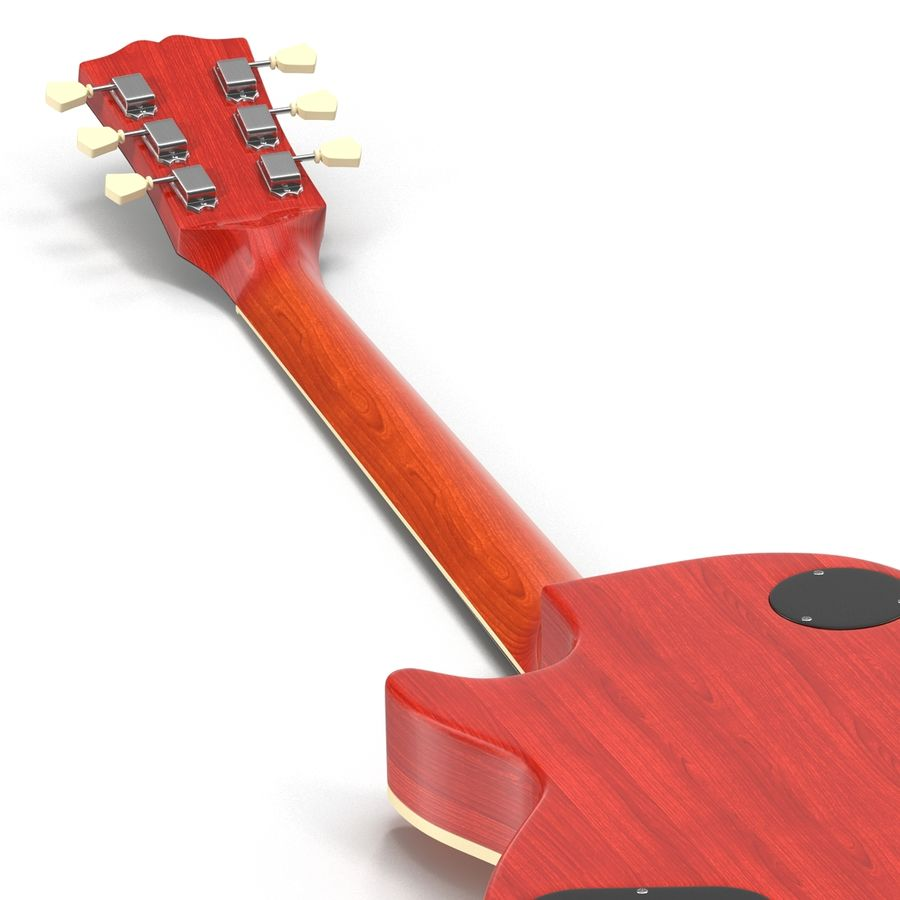 Guitars Collection royalty-free 3d model - Preview no. 30