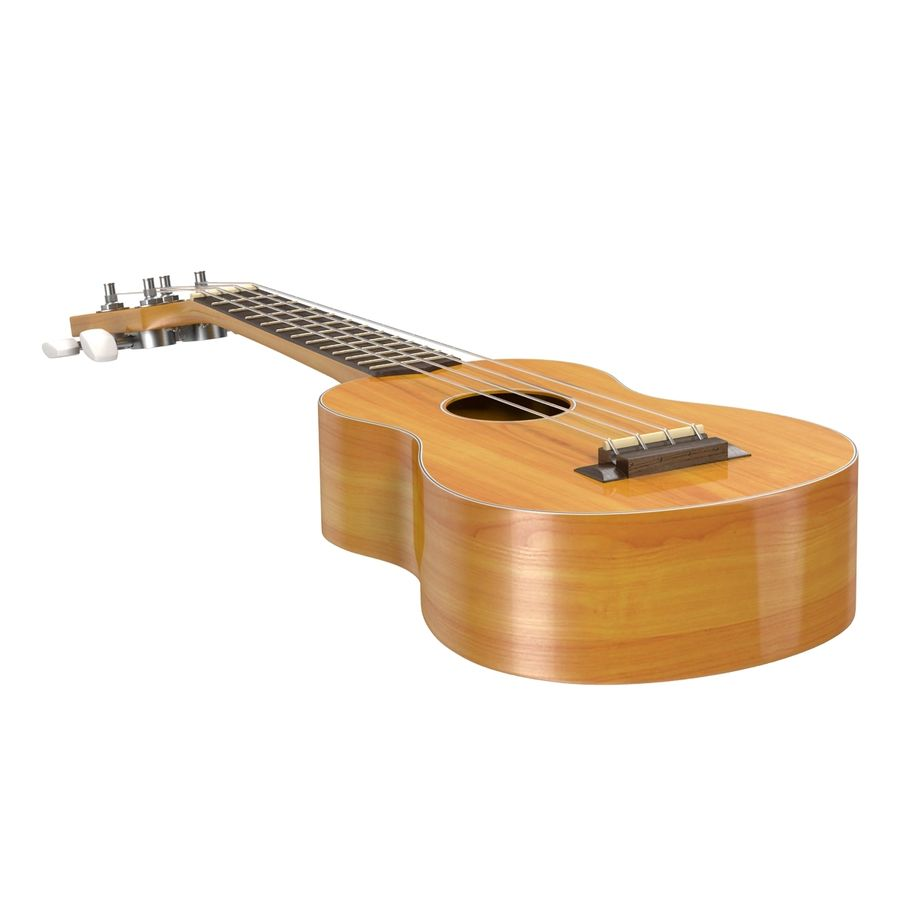 Guitars Collection royalty-free 3d model - Preview no. 59
