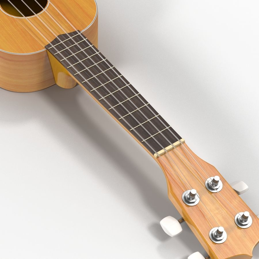 Guitars Collection royalty-free 3d model - Preview no. 54