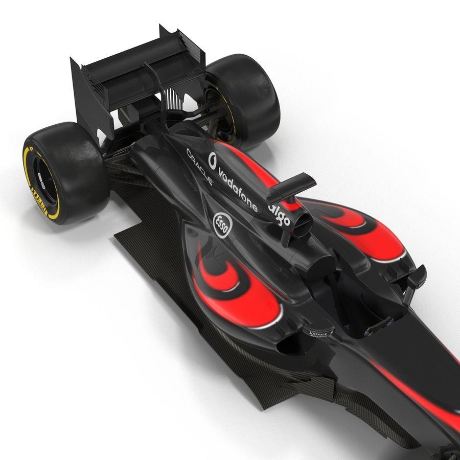 Formule 1 auto royalty-free 3d model - Preview no. 27