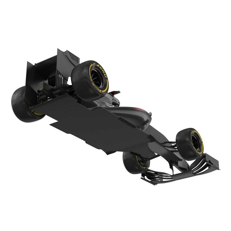 Voiture de Formule 1 royalty-free 3d model - Preview no. 23