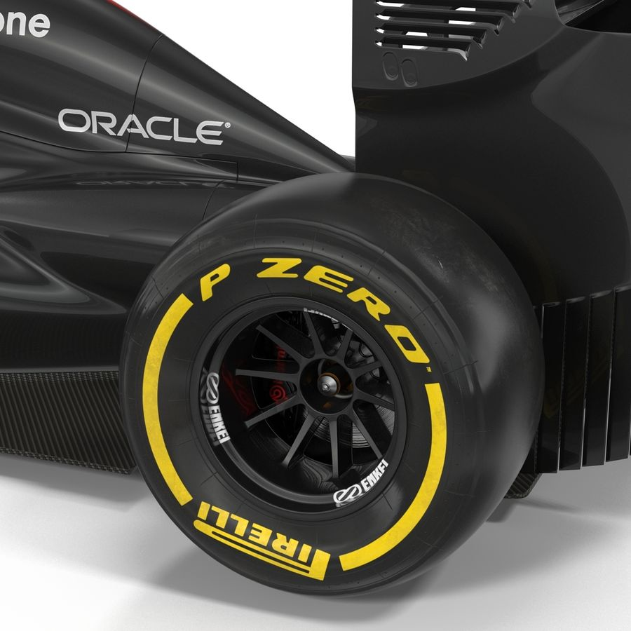 Voiture de Formule 1 royalty-free 3d model - Preview no. 49