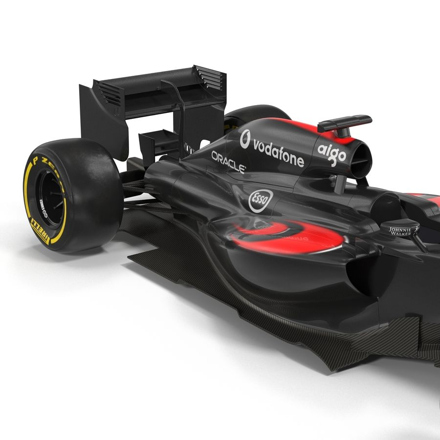 Voiture de Formule 1 royalty-free 3d model - Preview no. 28