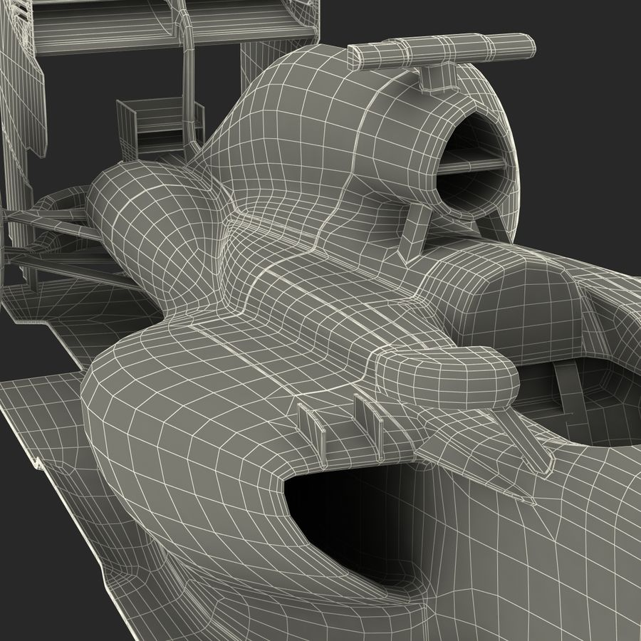 Voiture de Formule 1 royalty-free 3d model - Preview no. 85