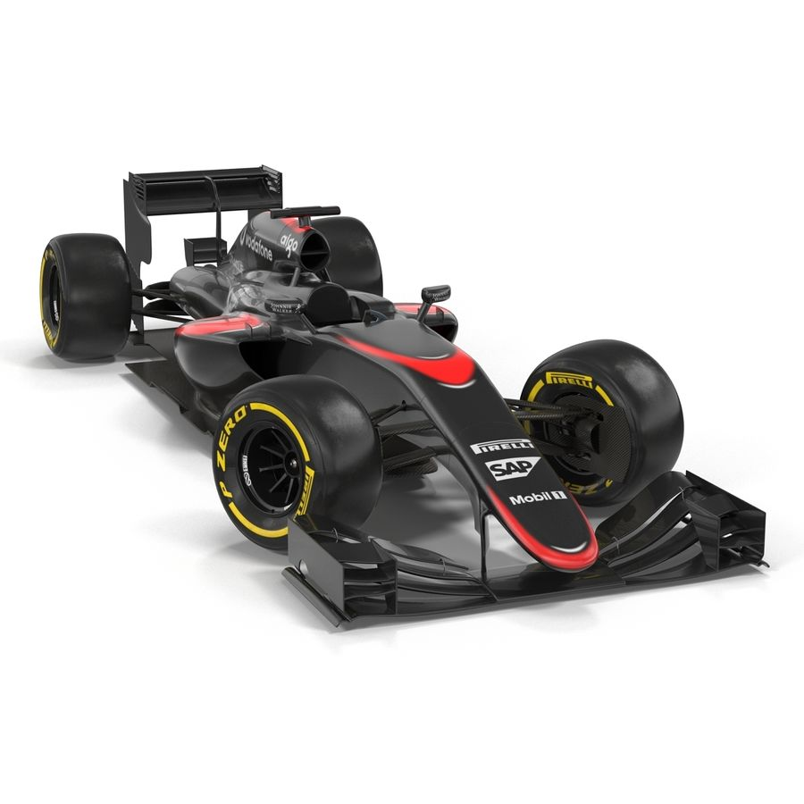 Voiture de Formule 1 royalty-free 3d model - Preview no. 13
