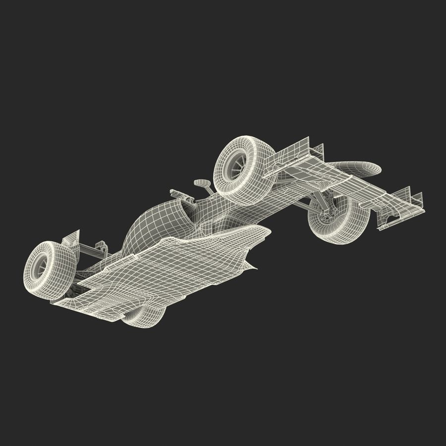 Voiture de Formule 1 royalty-free 3d model - Preview no. 76