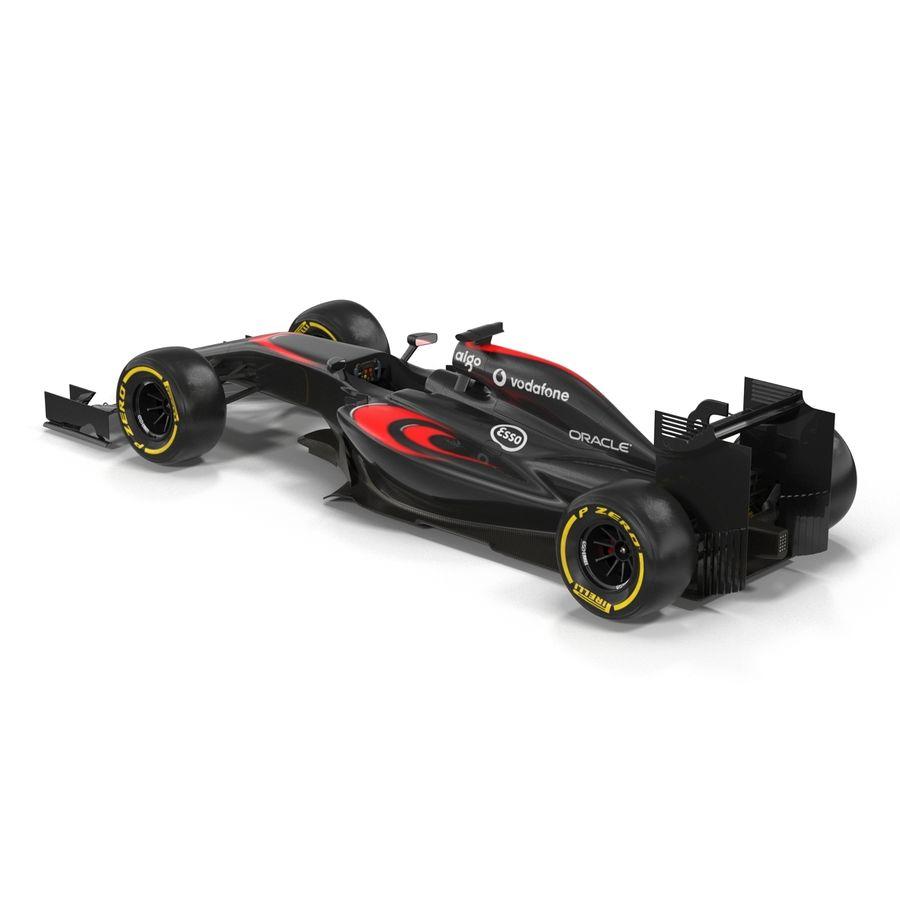 Formule 1 auto royalty-free 3d model - Preview no. 5