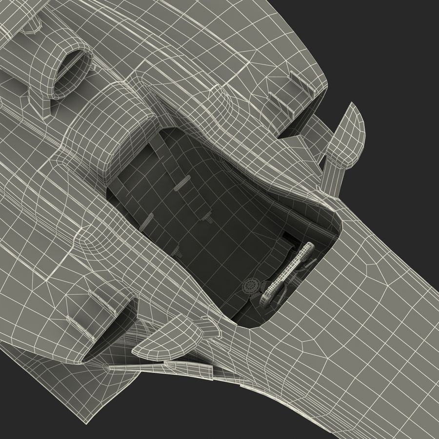 Formule 1 auto royalty-free 3d model - Preview no. 86
