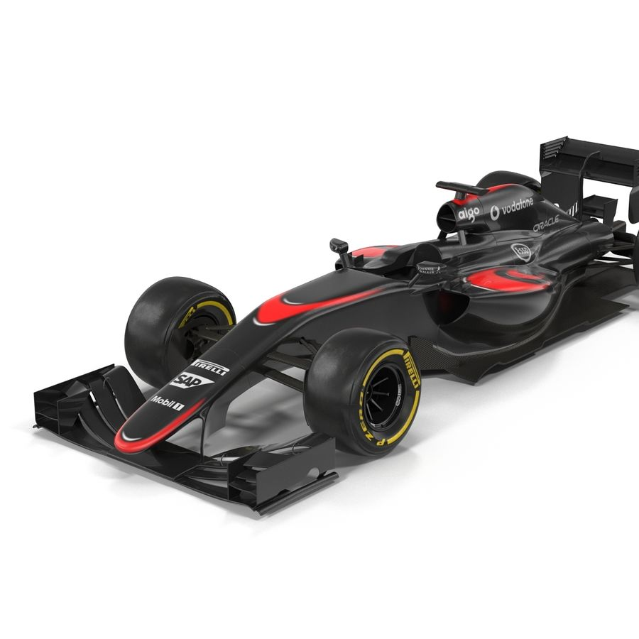 Voiture de Formule 1 royalty-free 3d model - Preview no. 24