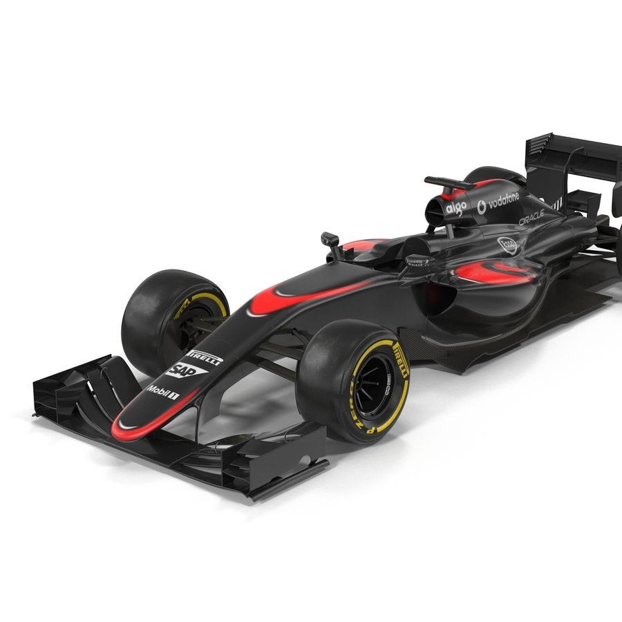 Formule 1 auto royalty-free 3d model - Preview no. 24