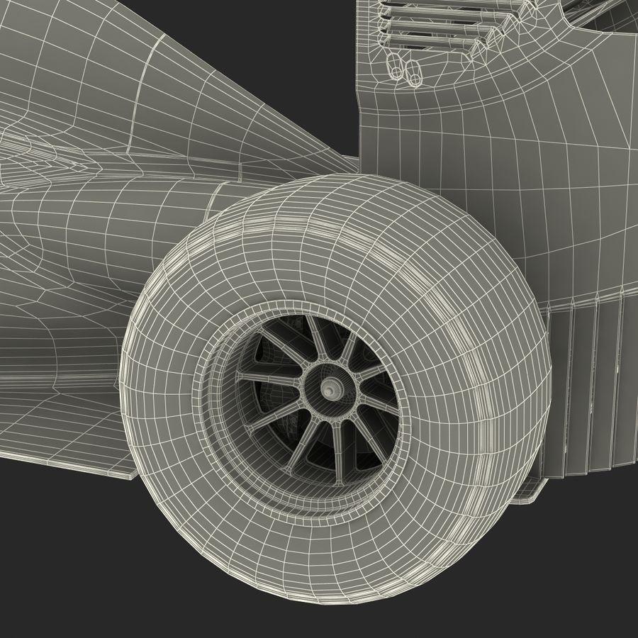 Formule 1 auto royalty-free 3d model - Preview no. 94