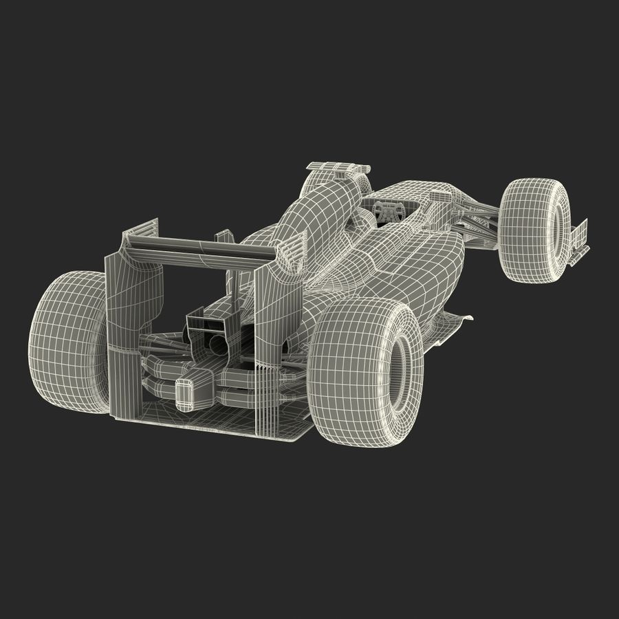 Voiture de Formule 1 royalty-free 3d model - Preview no. 73