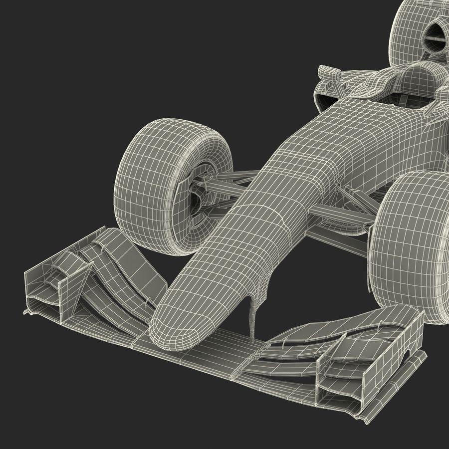 Formel 1-bil royalty-free 3d model - Preview no. 91