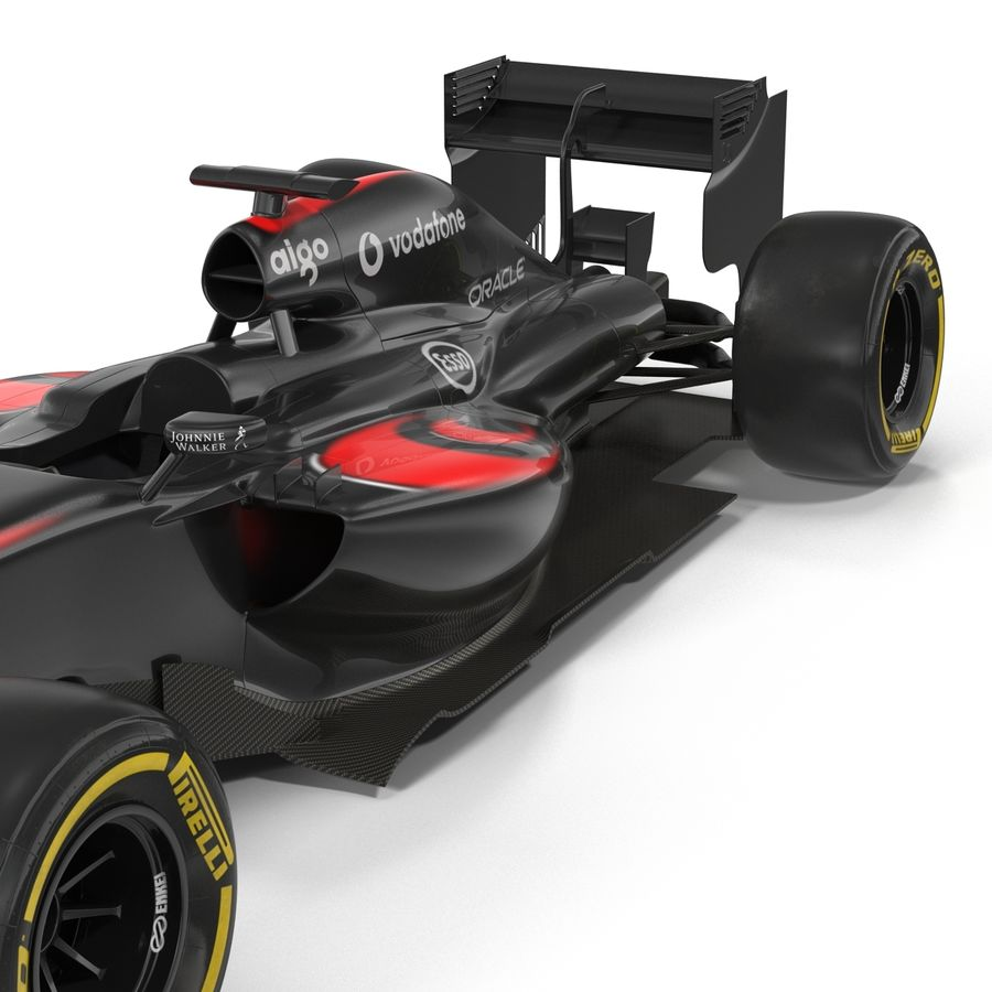 Voiture de Formule 1 royalty-free 3d model - Preview no. 29