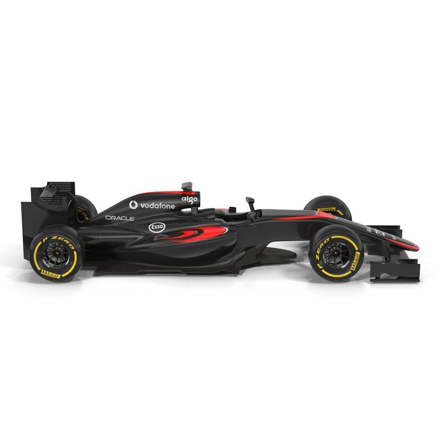 Formule 1 auto royalty-free 3d model - Preview no. 11