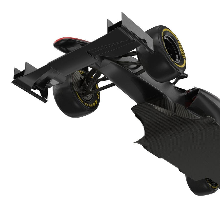 Voiture de Formule 1 royalty-free 3d model - Preview no. 56