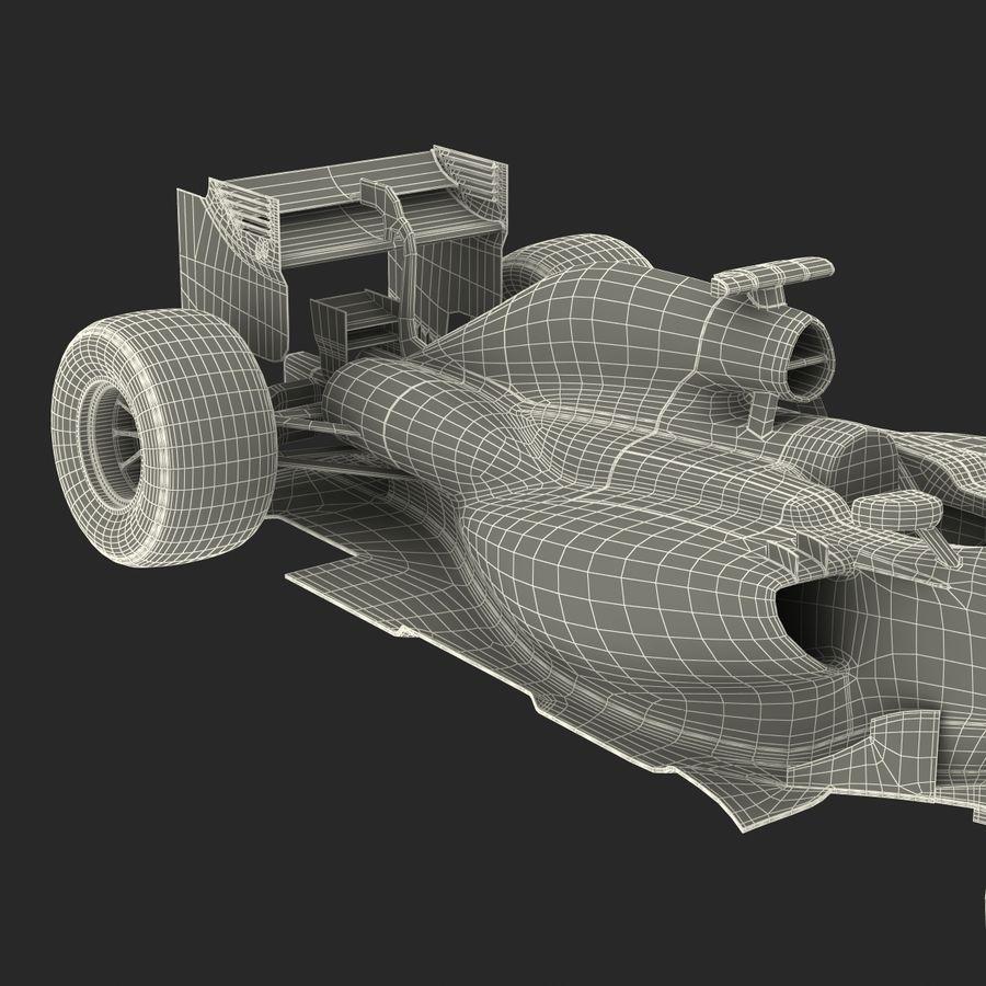 Formule 1 auto royalty-free 3d model - Preview no. 82