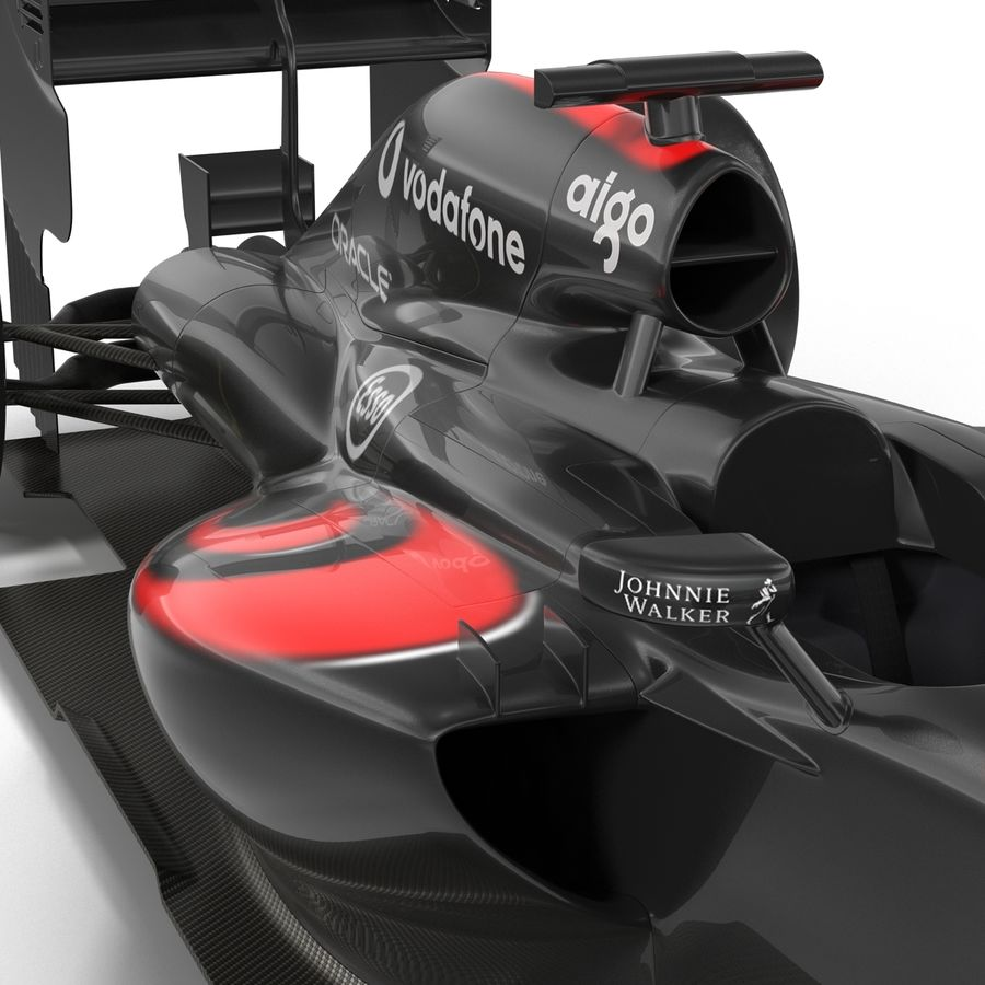 Voiture de Formule 1 royalty-free 3d model - Preview no. 32