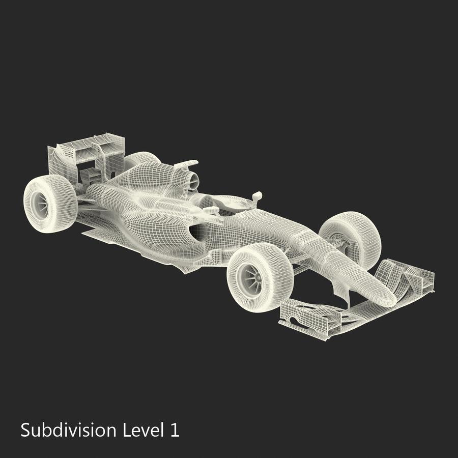 Formule 1 auto royalty-free 3d model - Preview no. 59