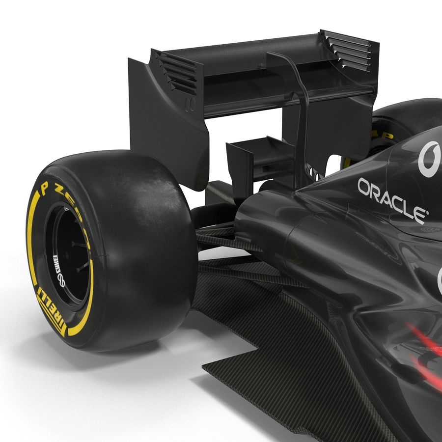 Voiture de Formule 1 royalty-free 3d model - Preview no. 43