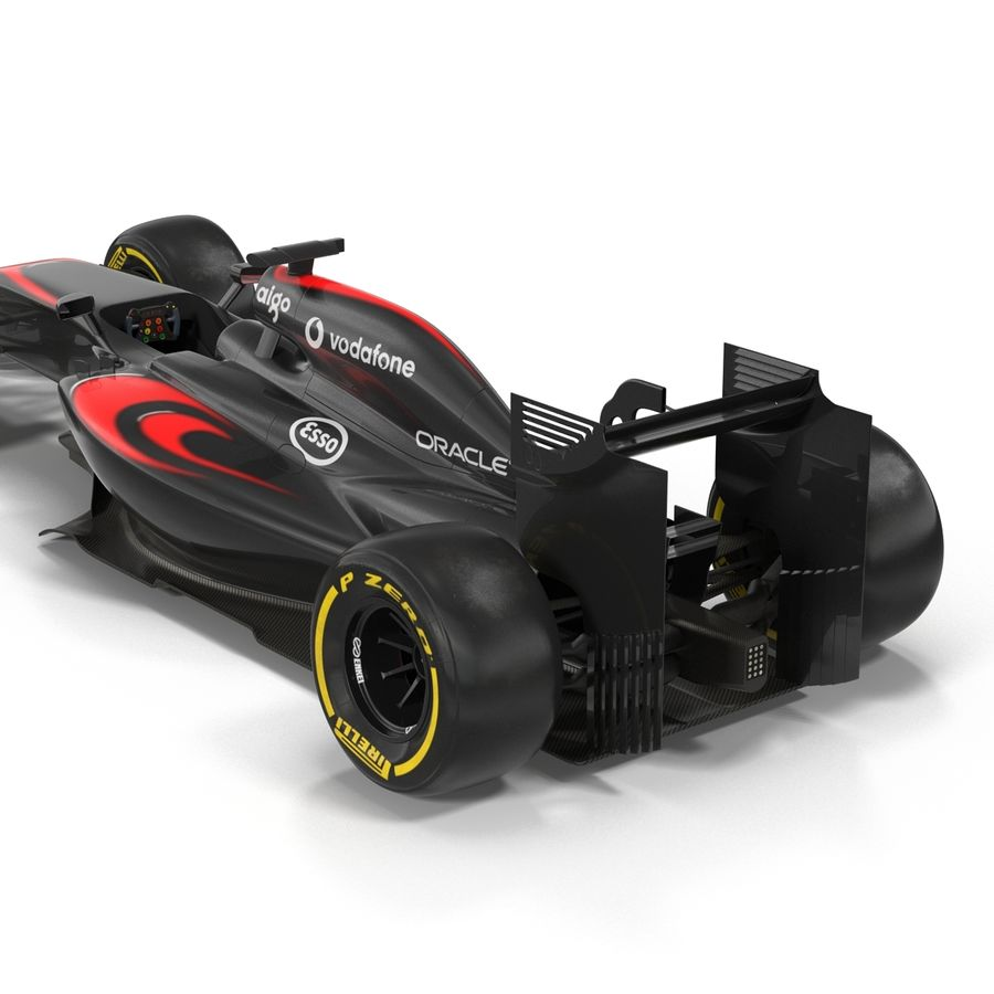 Voiture de Formule 1 royalty-free 3d model - Preview no. 30