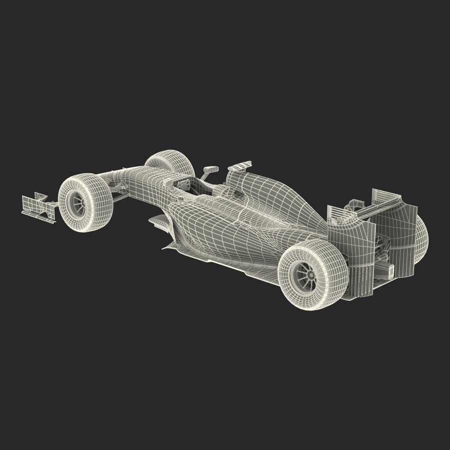 Formule 1 auto royalty-free 3d model - Preview no. 70