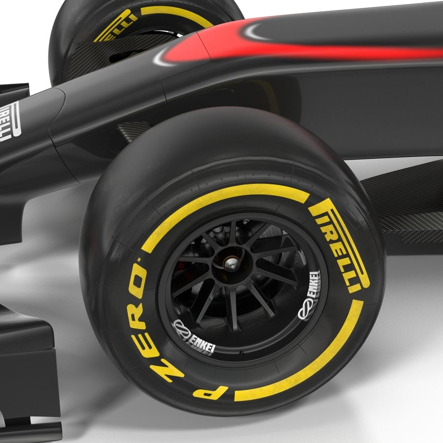 Voiture de Formule 1 royalty-free 3d model - Preview no. 51