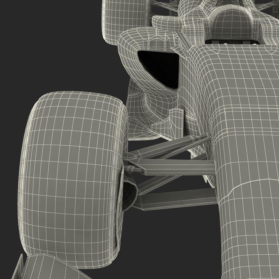 Formule 1 auto royalty-free 3d model - Preview no. 93