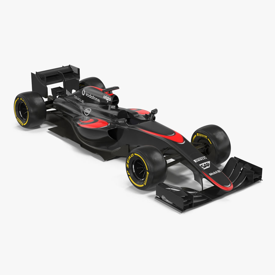 Voiture de Formule 1 royalty-free 3d model - Preview no. 1